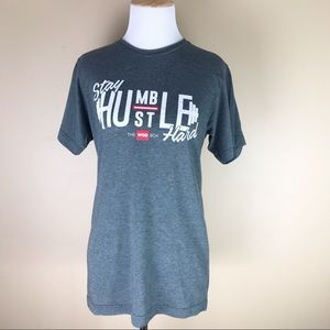 Stay Humble Stay Hard Graphic Tee